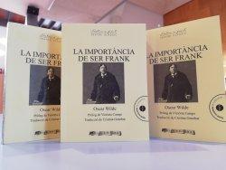 'La importància de ser Frank' al Club de Lectura del mes de maig