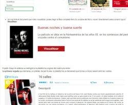 L'eBiblio incorpora 2.300 pel·lícules al seu catàleg