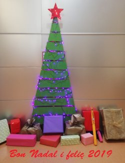 Horari de la Biblioteca de Taradell durant les festes de Nadal 2018