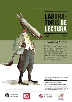 Laboratori de Lectura en família: 'El llop ha tornat'