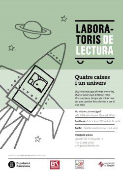 Primera sessió dels laboratoris de lectura: 'Quatre caixes i un univers'