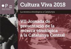 El Grup de Recerca participarà a la VII Jornada de la Recerca Etnològica a la Catalunya Central