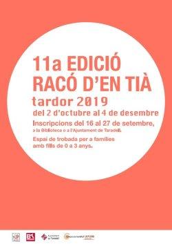 Inscripcions obertes per l'onzena edició del Racó d'en Tià