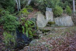 Inauguració de l'exposició 'Fonts del Montseny' a la Biblioteca de Taradell