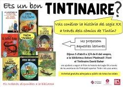 Vols conèixer la història del segle XX a través dels còmics d'en Tintín?