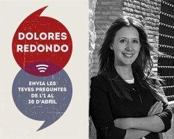 Dolores Redondo a l'entrevista virtual