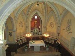 Interior Capella Santa Llúcia