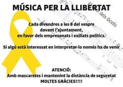 Música Llibertat mascareta