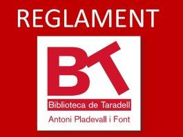 Reglament Biblio