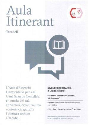 Aula itinerant _ Ràdio Taradell
