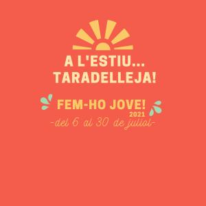 Taradell - Inici preinscripcions Fem-ho Jove! 2021