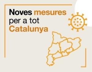 Taradell - Noves mesures per aturar el COVID-19 a tot Catalunya