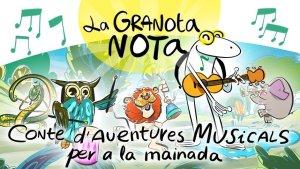 Presentació del conte 'La granota nota' de Raquel Sans i Ramon Soldevila