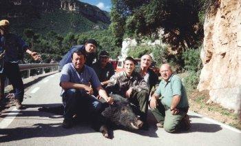 Societat de caçadors del senglar