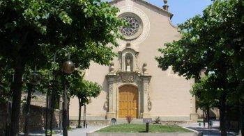 Església i campanar de Sant Genís
