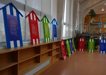 L'exposició 'Abril Poètic 2021' ja es pot visitar a la Biblioteca