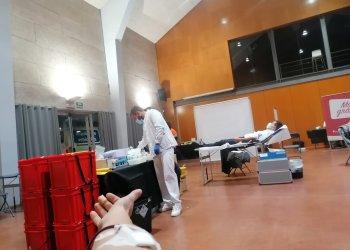 Un centenar de persones van donar sang dilluns a Taradell