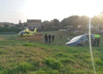 Dos ferits en un accident entre un turisme i una furgoneta al costat de Can Costa