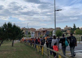 GALERIA DE FOTOS: 241 participants a la Caminada de Lluna Plena