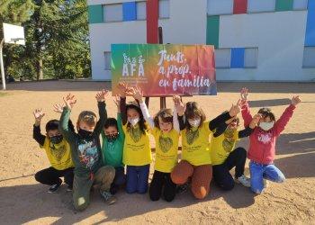 L'escola Sant Genís i Santa Agnès celebra la primera 'CastanyAFA' amb les famílies