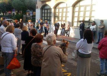 Concentració a Taradell contra la violència masclista i els feminicidis