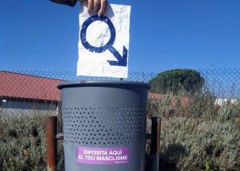 Taradell se suma a la campanya 'Diposita aquí el teu masclisme', de l'Institut Català de les Dones