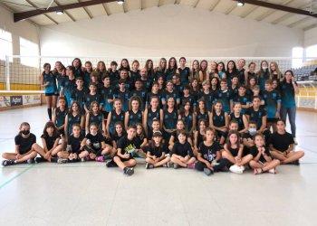 El Club Volei Taradell estrena temporada amb set equips