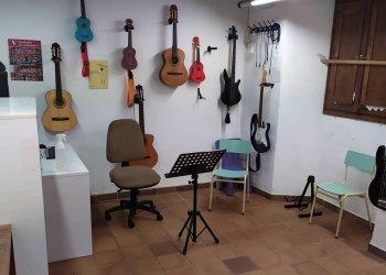 Aquest dilluns, l'escola de música reprèn les classes presencials