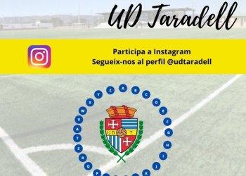 #JoEmQuedoACasa: la UD Taradell proposa un 'passaparaula' via Instagram