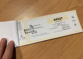 44327, el número de loteria de Ràdio Taradell