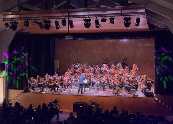 90 alumnes d'escoles de música d'Osona i la Garrotxa fan un concert conjunt a Taradell