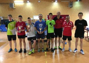 Tercer lloc de Jordi Forcada al Top8 de l'Intercomarcal de Tennis Taula