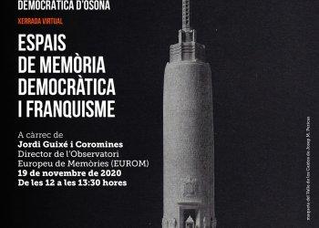 Taradell serà present a les IV Jornades de Memòria Democràtica d'Osona