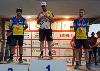 Tres podis taradellencs als campionats d'Espanya de bicitrial