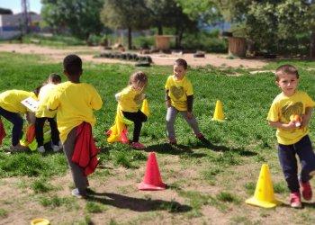 Jornada esportiva a l'Escola Sant Genís i Santa Agnès