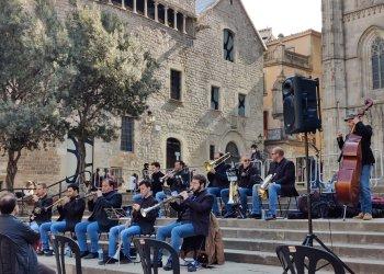 VÍDEO. Actuació dels Lluïsos a la plaça de la Catedral de Barcelona