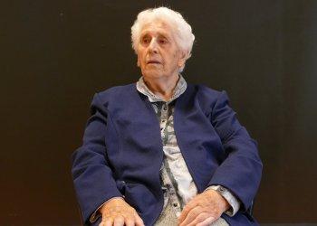 Isabel González Uribe fa 104 anys