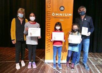 Elsa Molas, Martina Reig i Maria Clapés reben el Premi Sambori