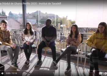 VÍDEOS. Les entrevistes dels alumnes de l'institut en el marc del Projecte Perfils