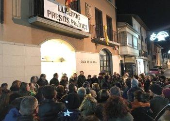 Aquest divendres, la concentració de suport als presos polítics serà davant de l'Ajuntament