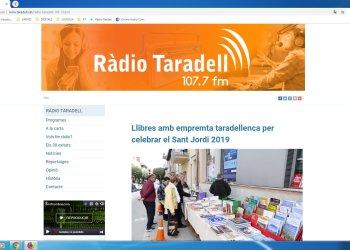 Ràdio Taradell renova la pàgina web