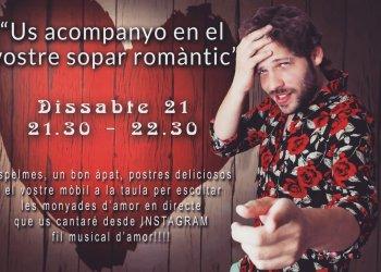 #JoEmQuedoACasa: concert romàntic amb Guillem Soler i lectura amb Aniol Florensa