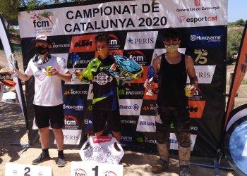 Arnau Lledó torna a guanyar i té més a prop el campionat català de motocròs
