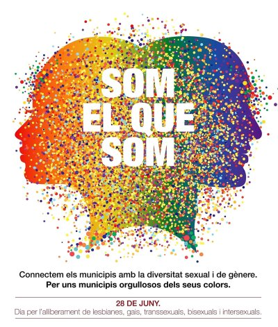 cartell 28J - dia per l'allibrament LGTBI