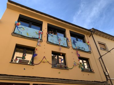 Concurs de balcons i finestres Carnaval 2111