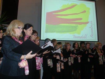 Presentació del projecte amb l'actuació de la coral L'Arpa