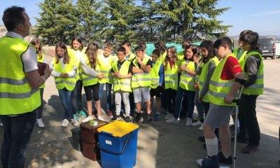 Escola el Gurri - intercanvi cultural al voltant dels residus