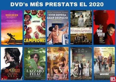 DVD'S MÉS PRESTATS 2020