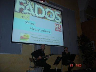 Concert de fados: 'Nevoa'