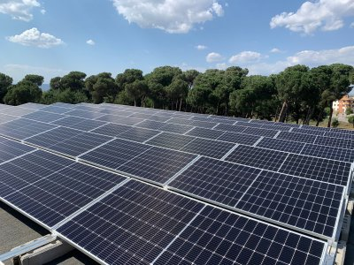 Instal·lació fotovoltaica EAS
